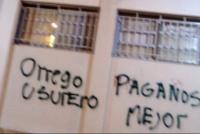 En pleno despegue de la candidatura a gobernador aparecieron pintadas contra Orrego