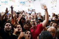 Carlos Munisaga lanzó su candidatura a intendente de Rawson ante una sede desbordada de gente