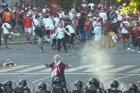 Escándalo Monumental: peleas y varios detenidos en la salida del estadio