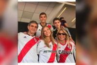La foto de la hermana del presidente de la CONMEBOL que indignó a todo Boca