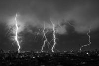 Emiten alerta meteorológica por lluvias y tormentas