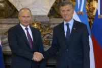 Macri recibió a Putin para profundizar el comercio y luchar contra el terrorismo y narcotráfico