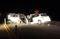 Un choque fatal en Pocito dejó dos muertos como saldo