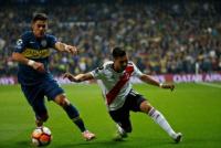 En el simulacro del sorteo de la Copa Libertadores Boca y River se cruzan en octavos de final