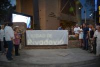 Rivadavia inauguró su nuevo portal de ingreso al departamento