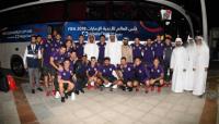 River ya está en Abu Dhabi para disputar el Mundial de Clubes