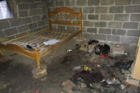 Un terrible incendio dejó sin nada a tres familias humildes
