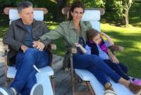 Macri ya está en Villa La Angostura para tomarse veinte días de vacaciones