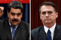"""Bolsonaro hacia Maduro: """"Puede dejar el poder con un mínimo de dignidad"""""""