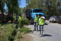 Rivadavia continúa asistiendo a personas damnificadas por la lluvia
