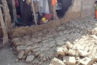 Una pared cayó sobre un nene de 10 años y tuvo que ser hospitalizado