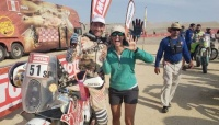El Puchi Ontiveros terminó su sexto Dakar con una gran actuación