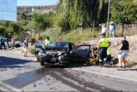 Terrible colisión de una pareja de argentinos en Chile