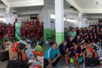 Ganó la solidaridad: Desamparados y Peñarol jugaron para ayudar a los inundados de Chaco