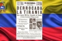 Día histórico: qué pasó un 23 de enero en Venezuela