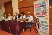 Presentación de las destrezas criollas y el folklore en Rawson