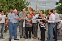 Rawson: Inauguraron obras en el barrio Belgrano