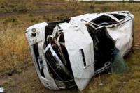 Volcó una camioneta en Usno: de milagro, no hay heridos de gravedad
