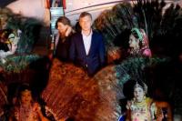 Macri comenzó su gira por Asia visitando la India y yendo al Taj Mahal