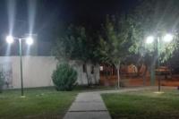 Rivadavia realizó mejoras en el alumbrado de la Plaza del Barrio El Ceibo