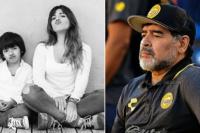 El enojo de Gianina Maradona por por el saludo tardío de cumpleaños de Diego a su nieto Benjamín