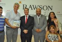 Autoridades de Coquimbo visitaron al intendente de Rawson