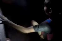 VIDEO: rescataron una mujer y tres menores del Cerro Tres Marías
