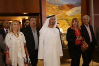 El presidente del Consejo Mundial para la Tolerancia y la Paz llegó a San Juan
