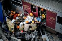 Al menos un muerto y ocho heridos tras un choque de trenes en Río de Janeiro