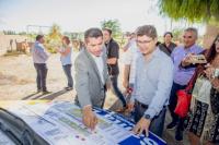 Comenzó la construcción del Parque de la Ciudad de Santa Lucía