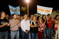 Inauguran obras de repavimentación y repotenciación en la Villa Pontoriero