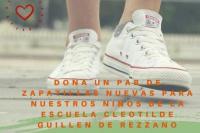 Llamado a la solidaridad: buscan zapatillas para chicos de una escuela de Calingasta