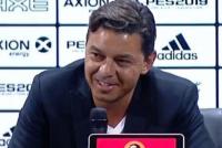 """""""Y vino el tercero... jeje"""": la burla de Gallardo en conferencia de prensa"""
