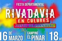 Disponen sistema de traslado gratuito hasta el Pinar para quienes vayan a la Fiesta Rivadavia en Colores