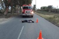 Cama de pavimento: se quedó dormido en plena calle
