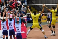 Vóley: Obras pasó a semis y UPCN logró un gran triunfo en Neuquén