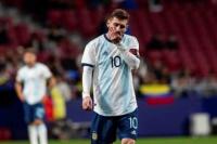 Lionel Messi volvió a Barcelona tras la derrota argentina en Madrid