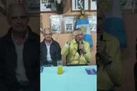 Jose Luis Gioja con Rubén García: