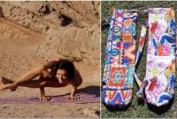Carolina Pagés, la joven que sueña a través del yoga