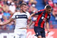 San Lorenzo le empató a Gimnasia sobre el final
