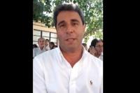 Sergio Uñac saludó a DAME NOTICIAS después de emitir su voto