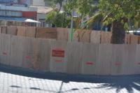 Comenzaron los trabajos de remodelación en la rotonda de Avenida Libertador y Rastreador Calivar