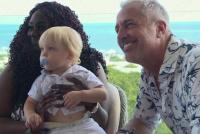 Marley se reencontró con la mujer que llevó a Mirko en su vientre