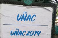 Aparecieron carteles en Buenos Aires candidateando a Uñac para el 2019