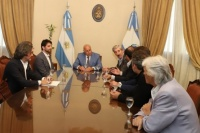 Un consorcio italiano está interesado en realizar proyectos de energía en San Juan