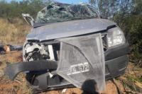 San Luis: volvían de San Juan, perdió el control de su camioneta tras quedarse dormida y su pareja falleció