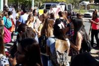 """""""Que no te roben"""": el mensaje de los alumnos de la Universidad Católica para una nueva protesta"""