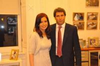 El mensaje de Sergio Uñac a Cristina Kirchner por la muerte de su madre