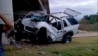 Mató a su mujer y su suegra y luego se suicidó al chocar su camioneta intencionalmente