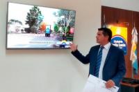 Marcelo Orrego presentó el proyecto de lo que será la nueva plaza de Santa Lucía